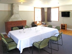 The Forest lounge meeting room