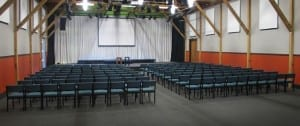 The Rafters auditorium