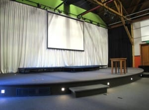 The Rafters stage area