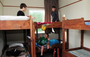 School camp accommodation